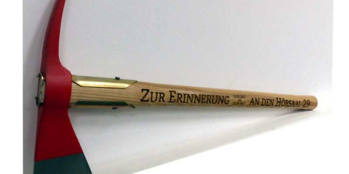 Axe Engraved Engraving
