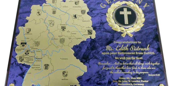 Church Plaque Engraving
