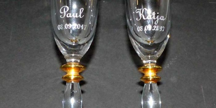 Glass engraving engraved glass