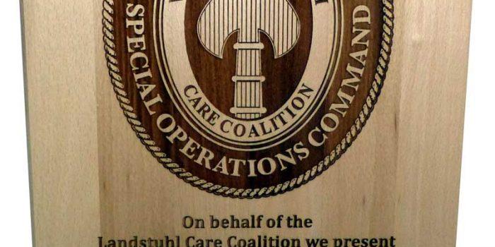 US Army SOF LRMC Plaque Award