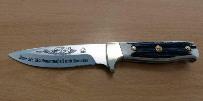 Knife Sword Steel Engraving