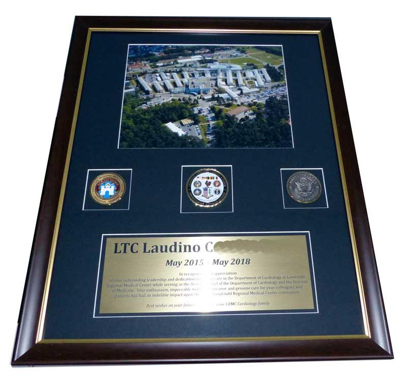 Framing Frame LRMC Landstuhl Regional Medical Center Trophy Center ...