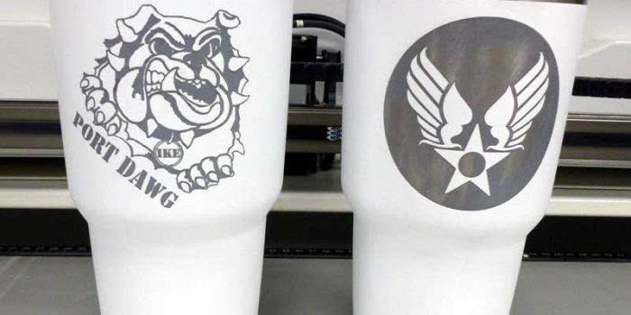 YETI Cup Engraving Engraved | Trophy Center | Trophy Shop Kaiserslautern Ramstein Air Base Engraving Frame Shop Coins Stamps Embroidery Guidons Awards Plaques Engraver Graveur Gravur | Sandra & Jochen Kulbick 3rd Generation of Professional Engravers Est. 1952 | Only in Kaiserslautern-Einsiedlerhof underneath Hacienda Mexican Restaurant