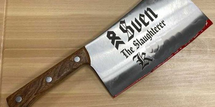 Cleaver Chopper Engraved Bundeswehr OR8 Beil Graviert Red Varnish Josy Spezial | Trophy Center | Sandra & J.R. Kulbick | Only in Kaiserslautern | Est. 1952 | Trophy Shop | 2 MILES FROM RAMSTEIN AIR BASE | GO OFF BASE TO THE AWESOME TROPHY CENTER | Engraving Frame Shop Coins Stamps Embroidery Guidons Awards Plaques Engraved Signs Graveur Gravur Graviert | Kaiserslautern-Einsiedlerhof underneath Hacienda Mexican Restaurant | Stempel Gravuren Pokale Schilder | US Army | US Air Force | KMCC | Nato | Bundeswehr | Support Local | E-Mail: info@trophy-center.de